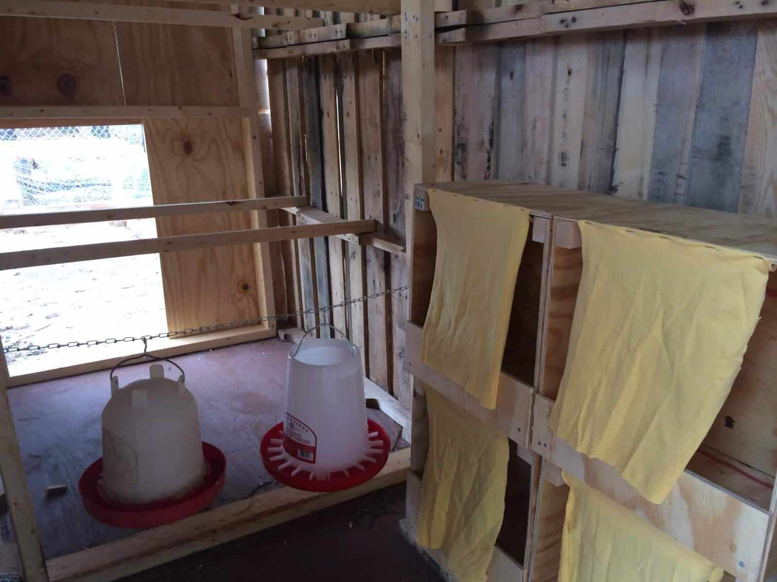 Coop Nesting Boxes and Roosts