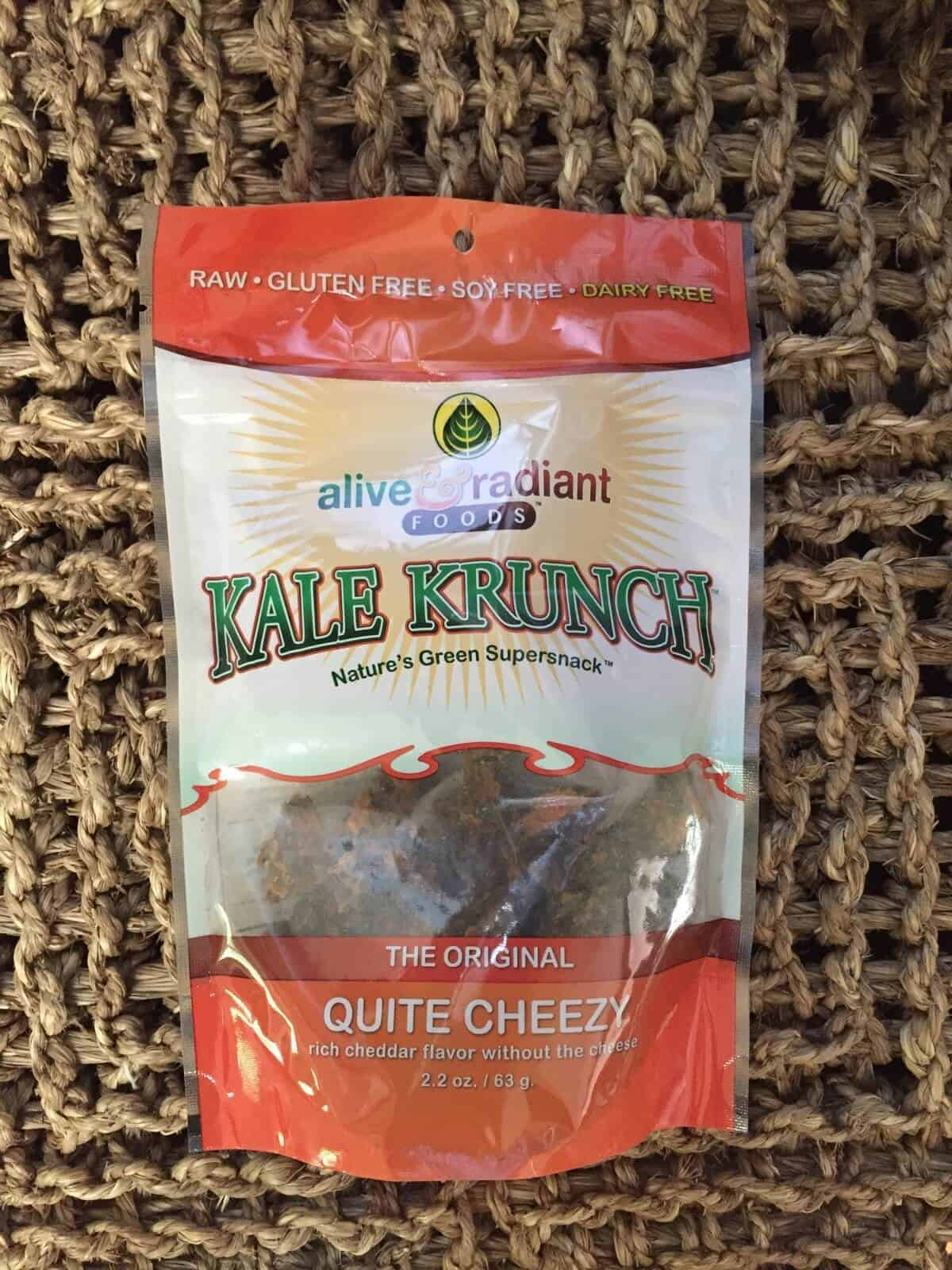 Alive & Radiant Foods Kale Krunch from Thrive Market