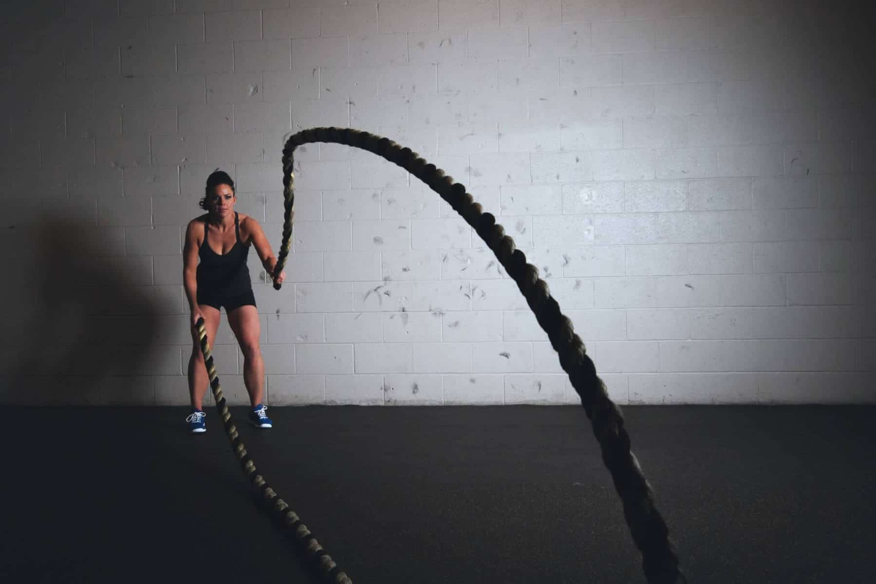 Working out with jumpropes