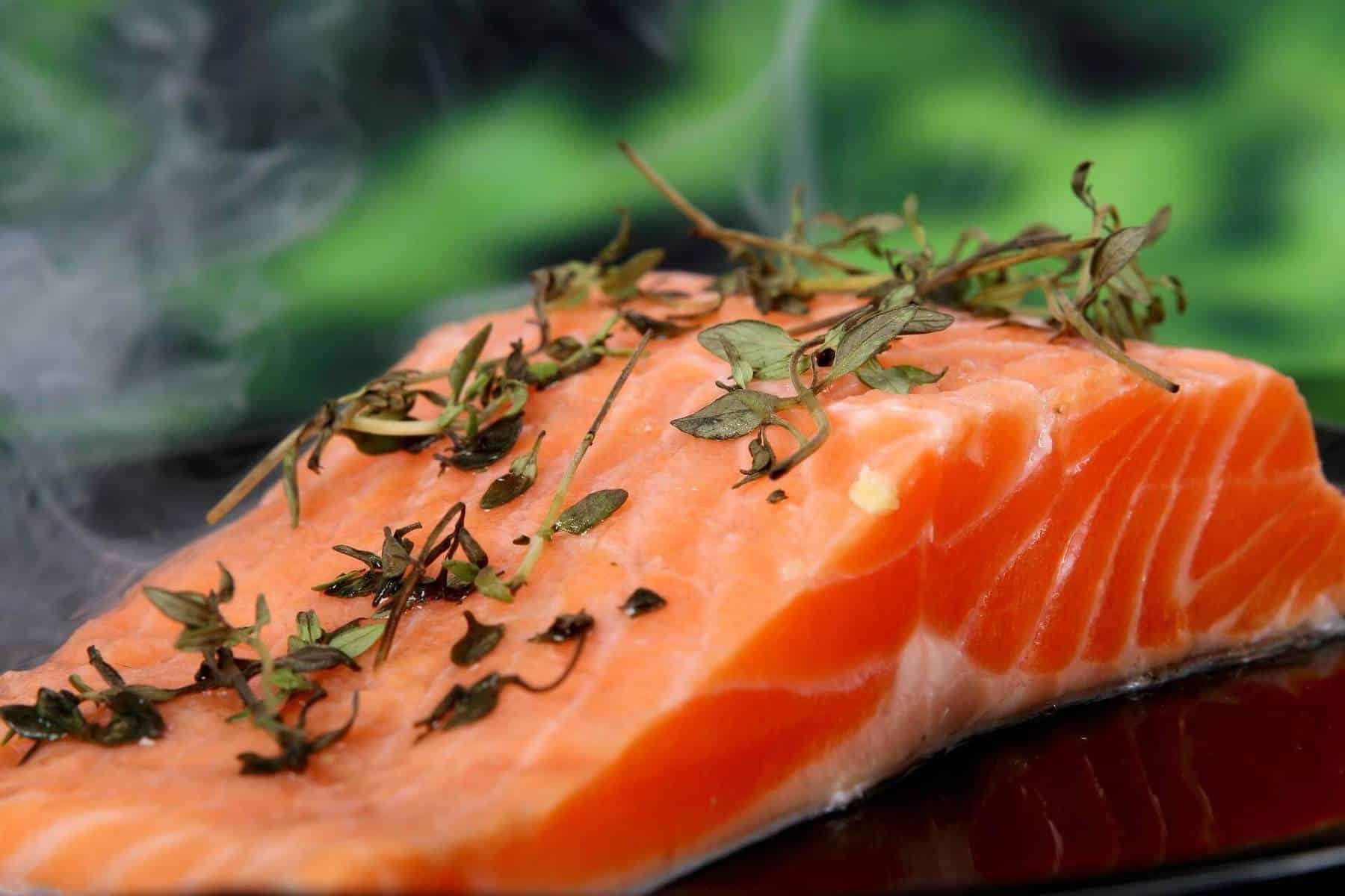 Superfoods - salmon