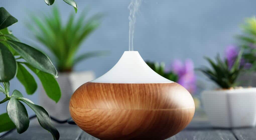 Essential oil humidifier diffuser