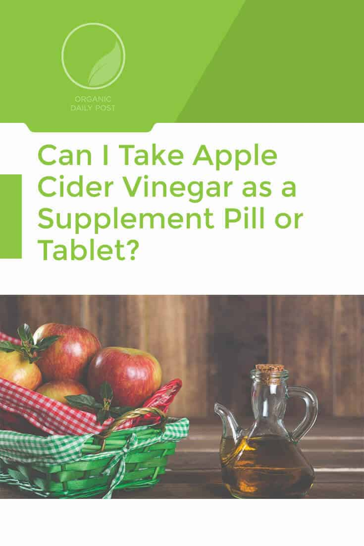 Yes you can, but they vary widely. Find the best and most cost effective ACV pills for your needs with our comprehensive chart and guide.
