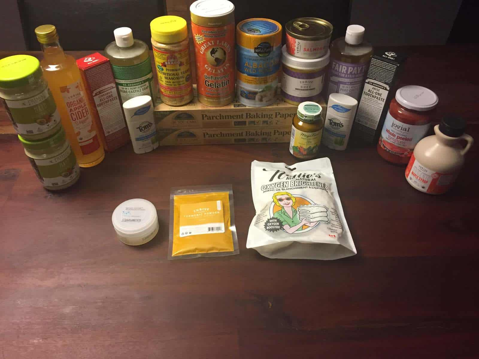 Products from Thrive Market