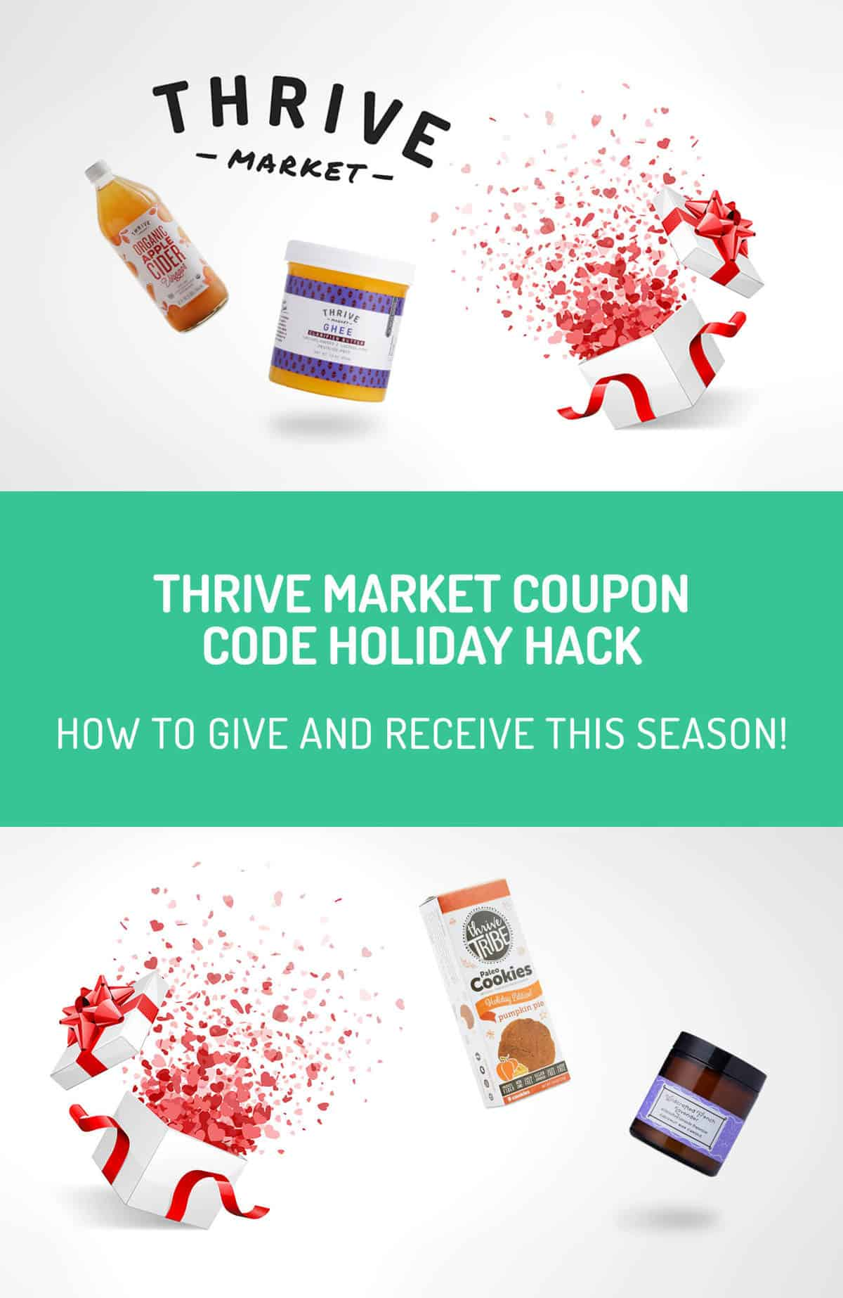 Use this holiday hack for Thrive Market to get a great discount on your holiday shopping and keep a sweet membership deal all for yourself!