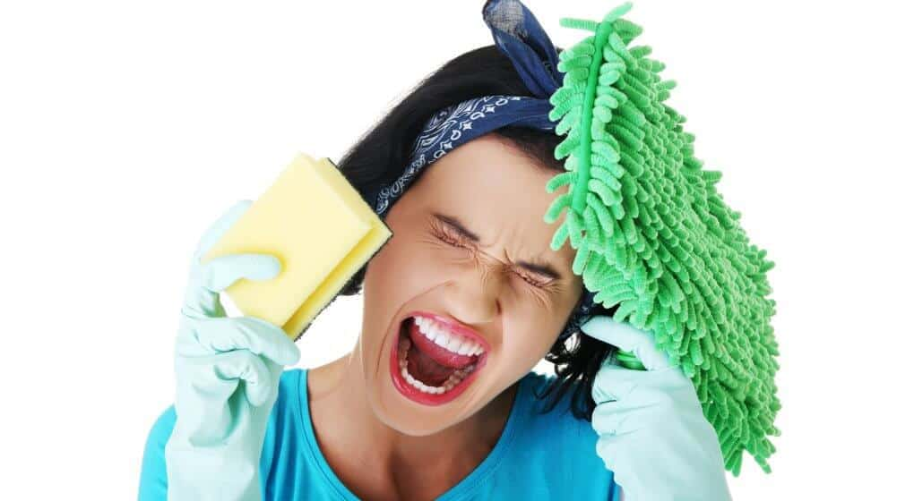 Dangers of household cleaners