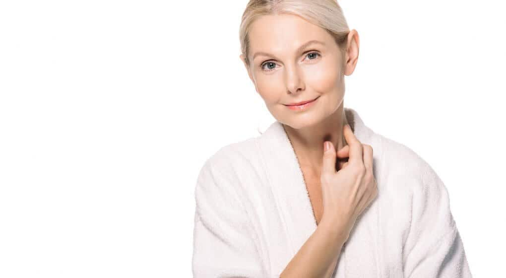 Natural creams for the neck