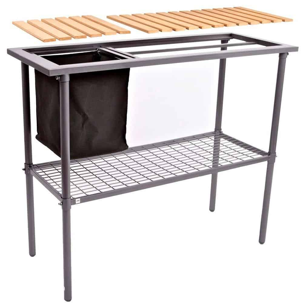 10. Garden and Greenhouse Potting Bench