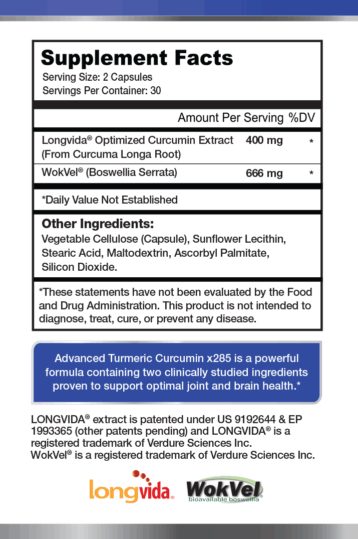 1MD Advanced Turmeric Curcumin