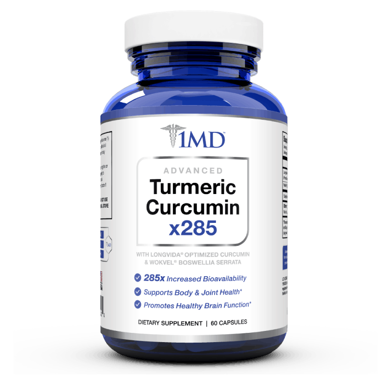 1MD Advanced Turmeric Curcumin
